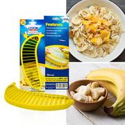 CookArt Banana Slicer Fruit Salad Cutter Vegetable Chopper Kitchen Tool Peeler