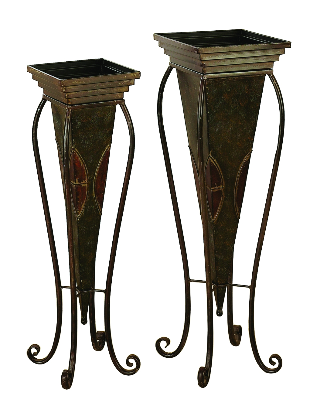 Metal Planter Set Of 2 For In House