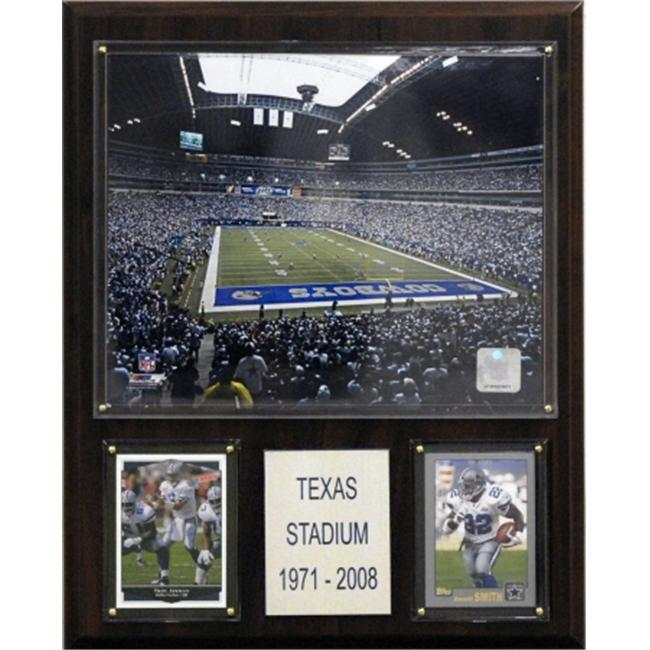 C & I Collectables 1215TEXASST NFL Texas Stadium Plaque