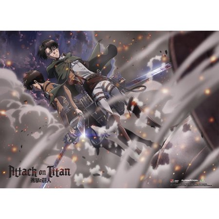 Wall Scroll - Sailor Moon - New Eren & Levi Ash Smoke Art Toys ge60827](Sailor Moon Boot Covers)