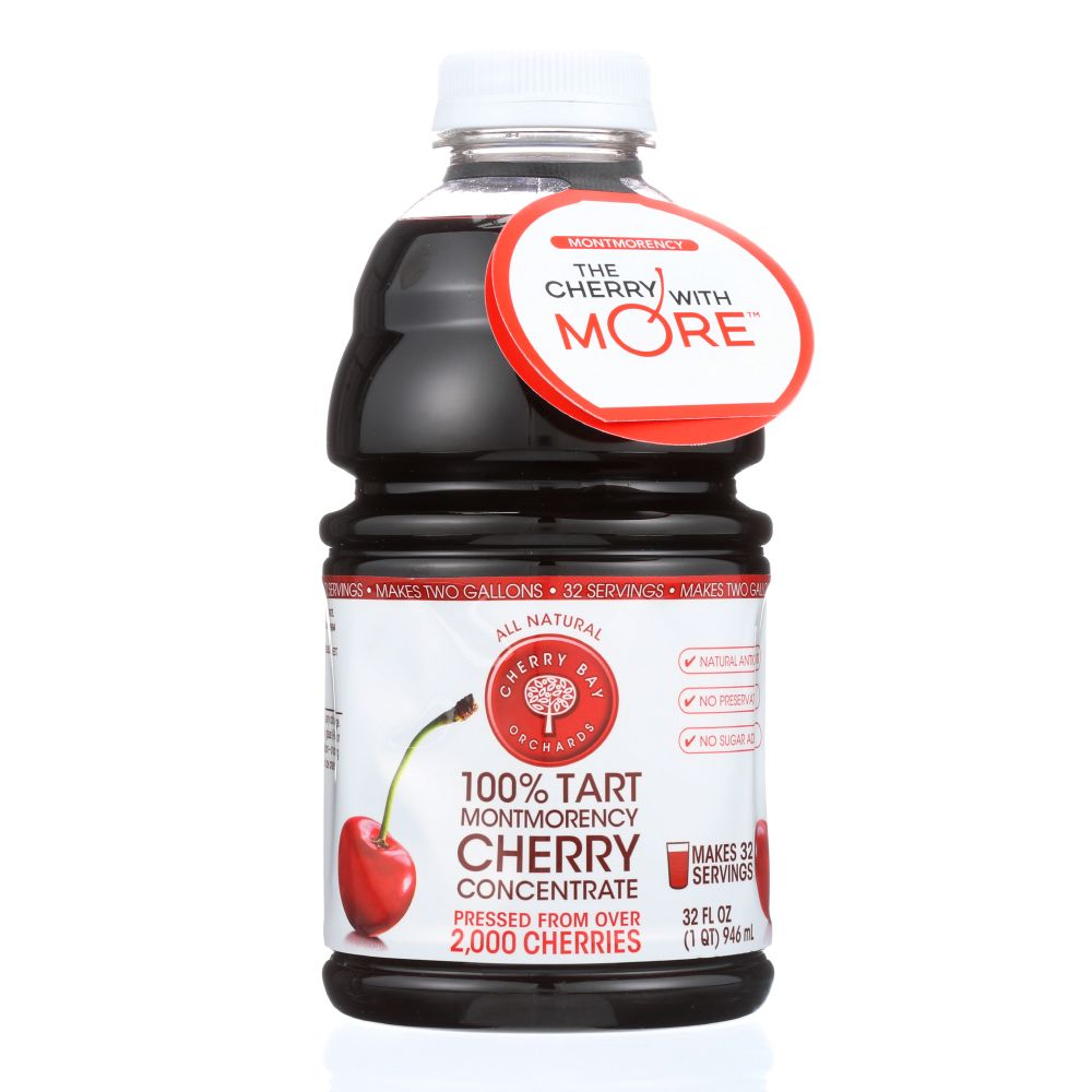 Cherry Bay Orchards Montmorency Concentrate 100% Tart Che...