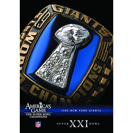 New York Giants Super Bowl Ring (NFL America's Game: New York Giants Super Bowl XXI)