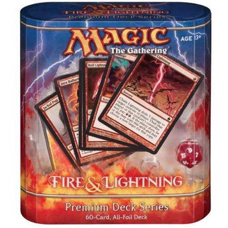 MtG Premium Deck Series: Fire and Lightning Fire & Lightning Premium