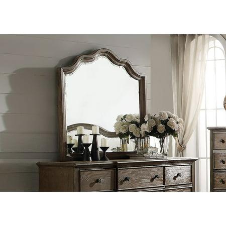 Dresser, Weathered Oak - Wood, Oak Veneer, Weathered Oak ()