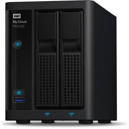 Wd 12Tb My Cloud Pr2100 Series Media Server With Transcoding  Nas