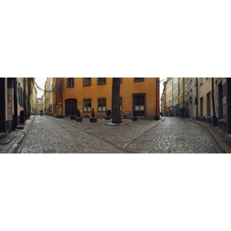 Buildings in a city Gamla Stan Stockholm Sweden Canvas Art - Panoramic Images (18 x 6)