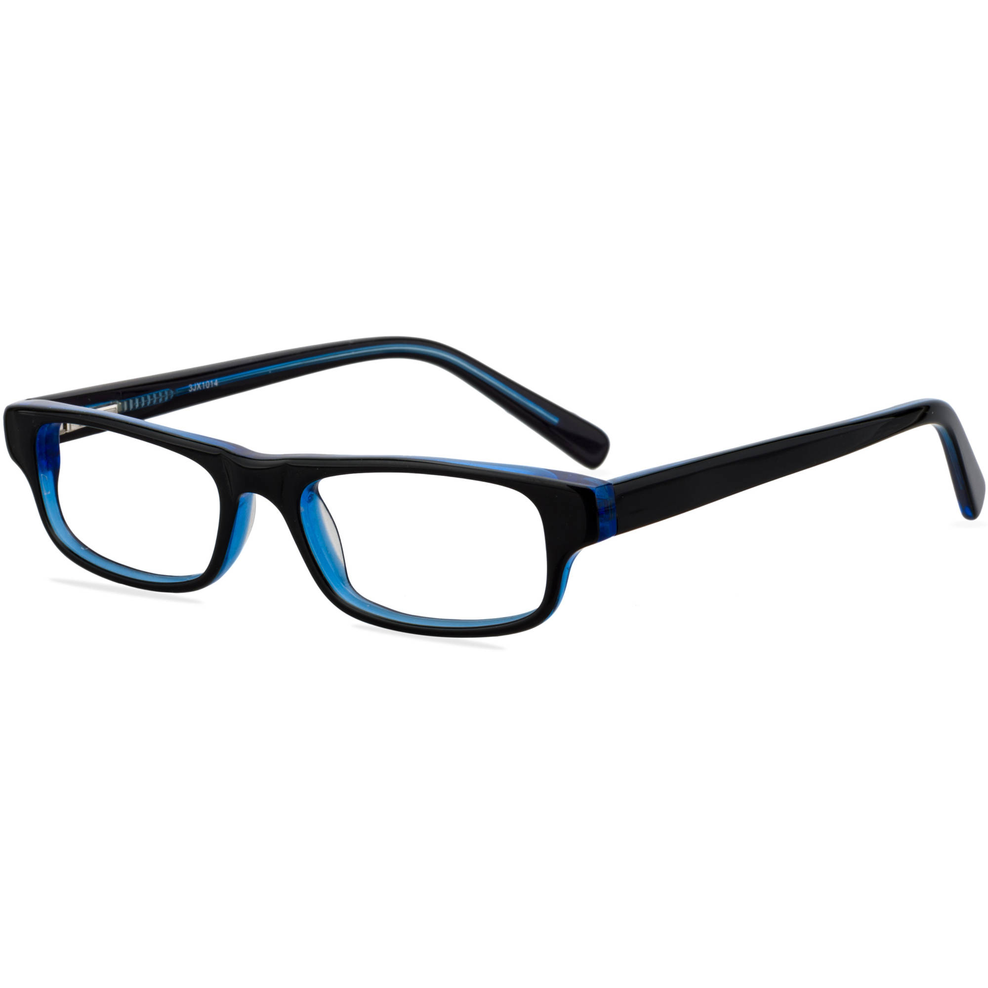 Contour Youths Prescription Glasses, FM14043 Black/Blue - Walmart.com