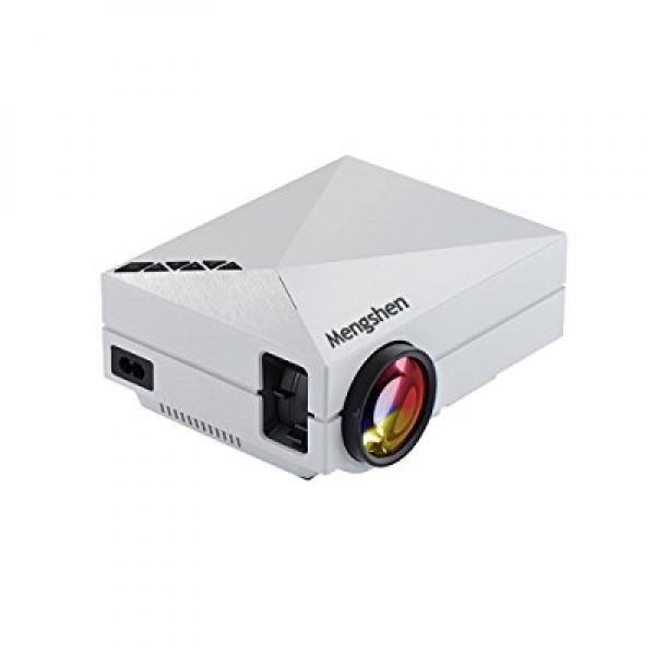 Mengshen Full Color 130 Portable LED Projector 800x480P H...