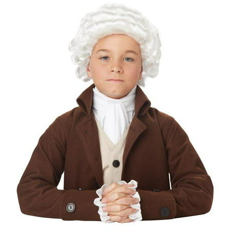 California Costumes CC70750 Childs Colonial Man Wig - One - Male Wigs