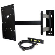 """VideoSecu Articulating TV Wall Mount for 22 24 28 29 32 39 40"""" VIZIO LG Sharp Sony LCD LED HDTV Tilt Swivel Bracket BHL"""