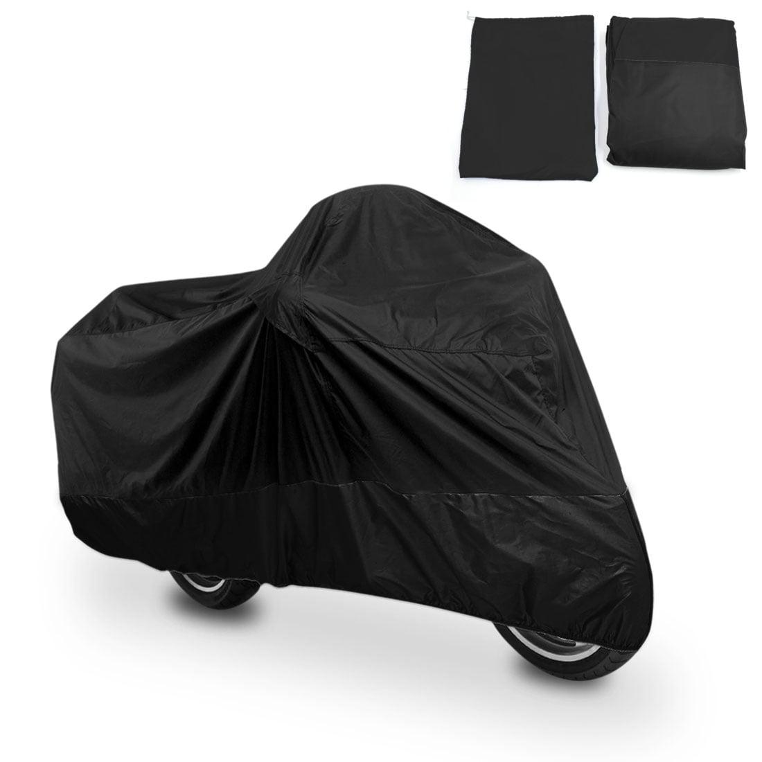 L Black+Silver Motorcycle Cover For Suzuki Katana GSXR 600 750 1000 TL1000R