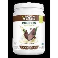 Vega Plant Protein & Greens Powder, Chocolate, 20g Protein, 1.2lb, 18.4oz