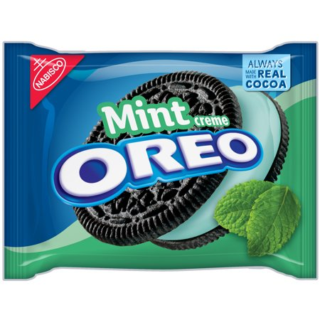 (Oreo Chocolate Sandwich Cookies Mint Creme, 15.25 OZ)