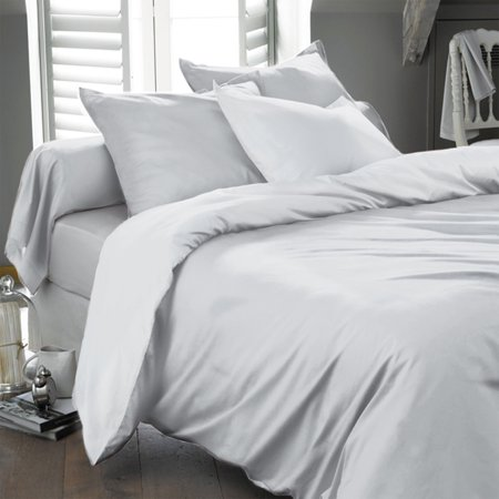 Ultra Soft Egyptian Comfort Deep Pocket Microfiber Ultra Soft Wrinkle Free Sheet Set - Twin - White - Bead Sets