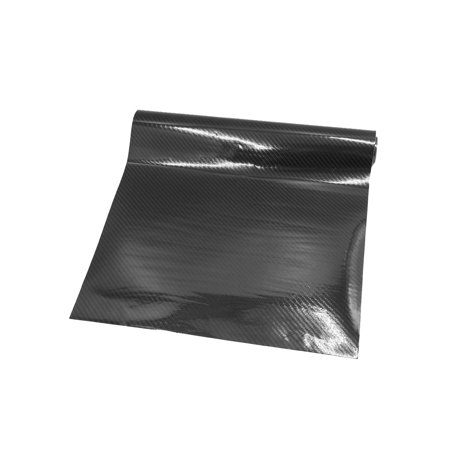 100 x 30cm 5D Black Carbon Fiber Pattern Self Adhesive Car Vinyl Film Sticker 100% Carbon Fiber