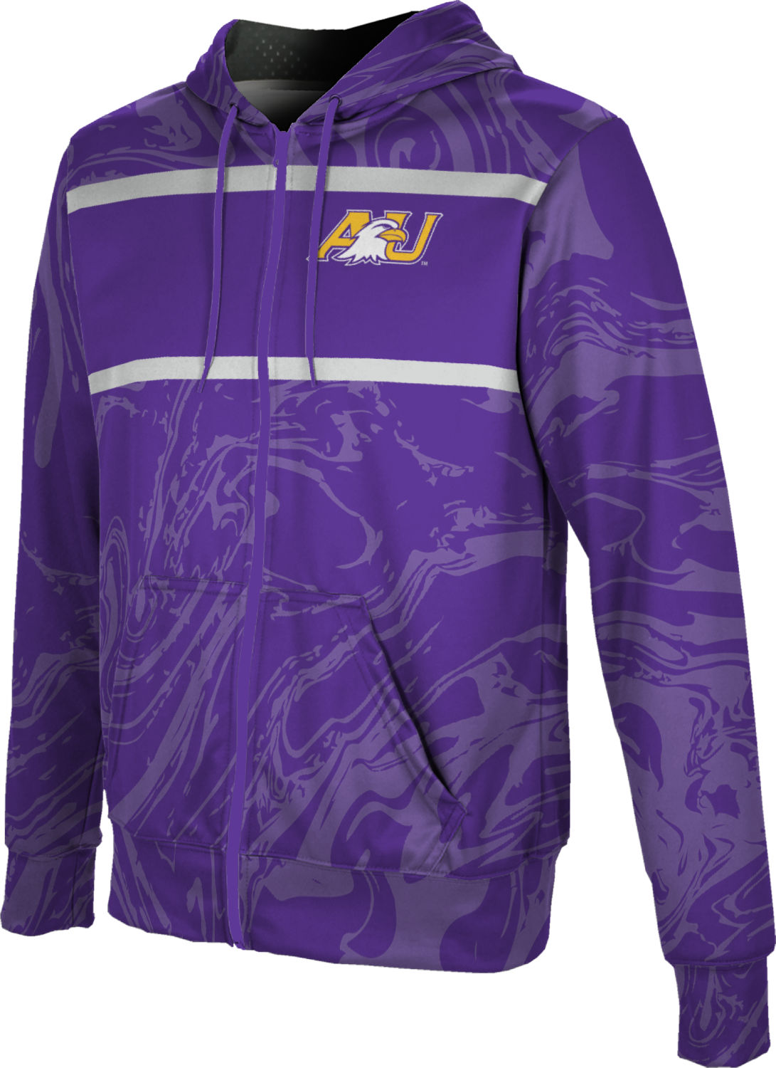 ProSphere Ashland University Boys Full Zip Hoodie Ripple