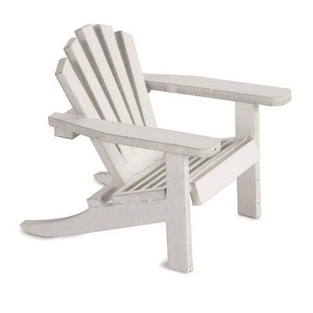 Adirondack Chair Frame Wedding Favors (24 Wedding Party Favors Miniature Furniture White Adirondack)