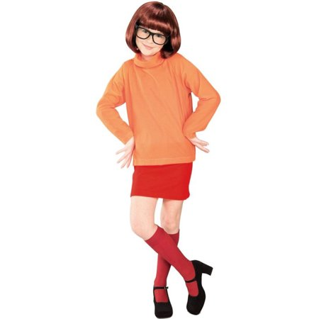 Morris costumes RU38963LG Scooby Doo Velma Child - Scooby Doo Child Costume