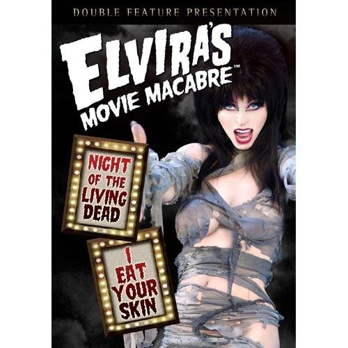 ELVIRA-NIGHT OF THE LIVING DEAD/I EAT YOUR SKIN (DVD)