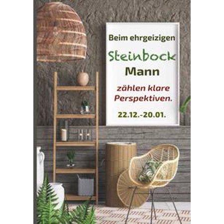 Beim ehrgeizigen Steinbock Mann zählen klare Perspektiven - eBook (Männer Klare Gläser)