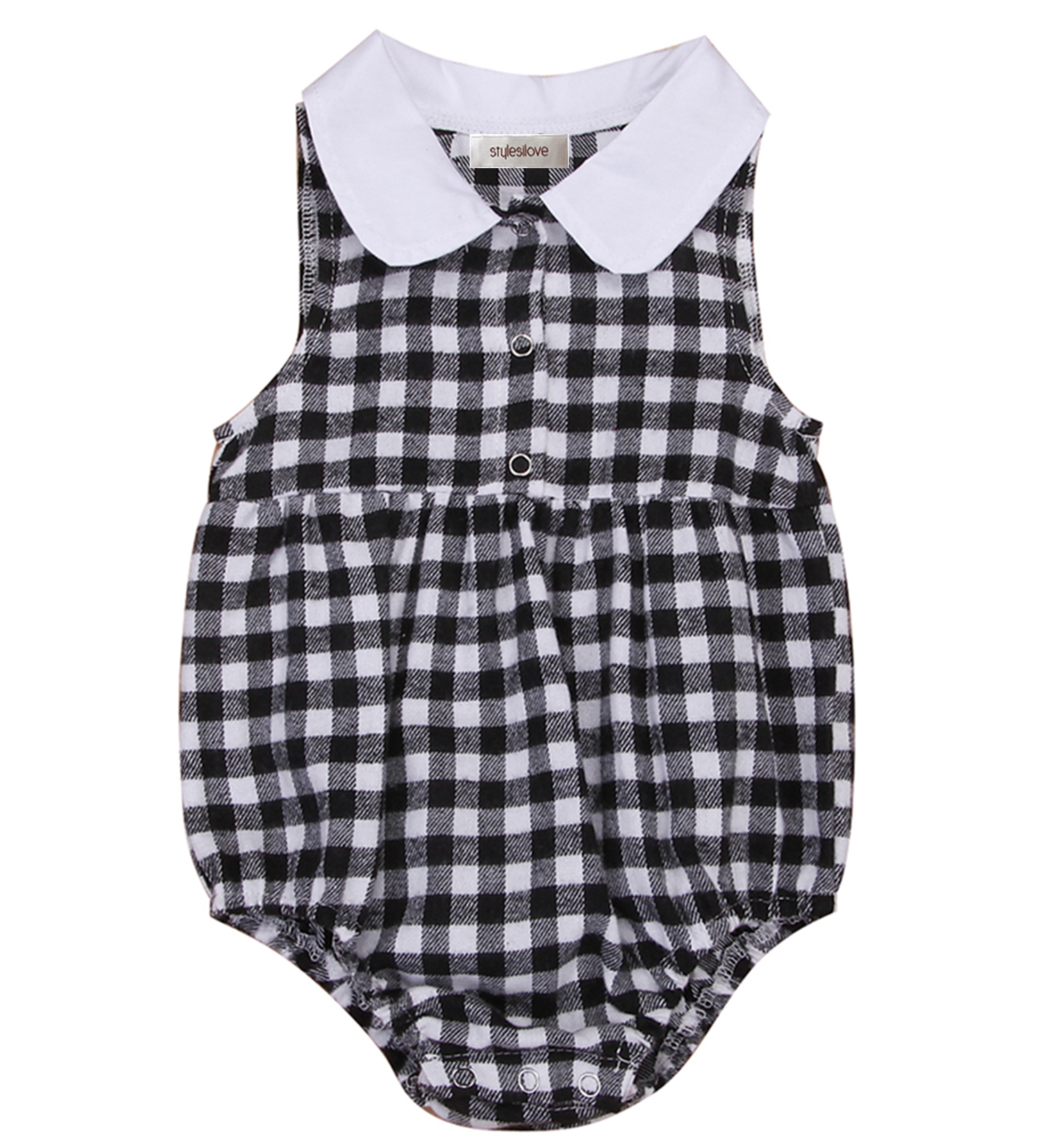 568d420f4 Styles I Love - Styles I Love Infant Baby Girl Black and White ...