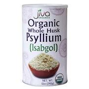 Jiva Organics Whole Husk Psyllium (Isabgol), 12 Oz