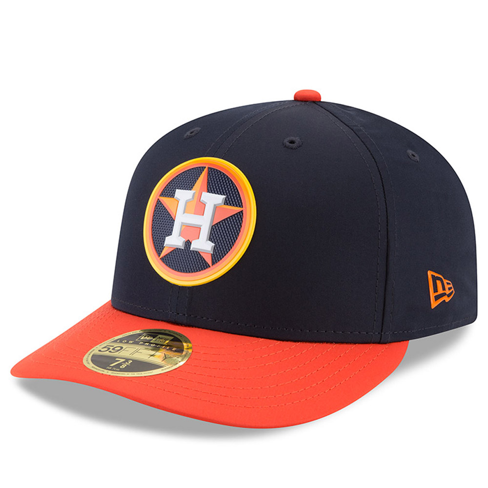 Houston Astros New Era 2018 On-Field Prolight Batting Practice Low Profile 59FIFTY Fitted Hat - Navy