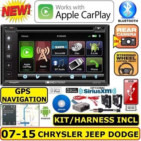Jeep Wrangler Radio (CHRYSLER JEEP DODGE GPS NAVIGATION SYSTEM BLUETOOTH/USB/EQ CAR RADIO STEREO)