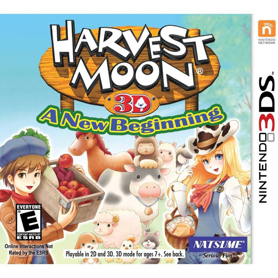 Natsume Harvest Moon: A New Beginning 3DS