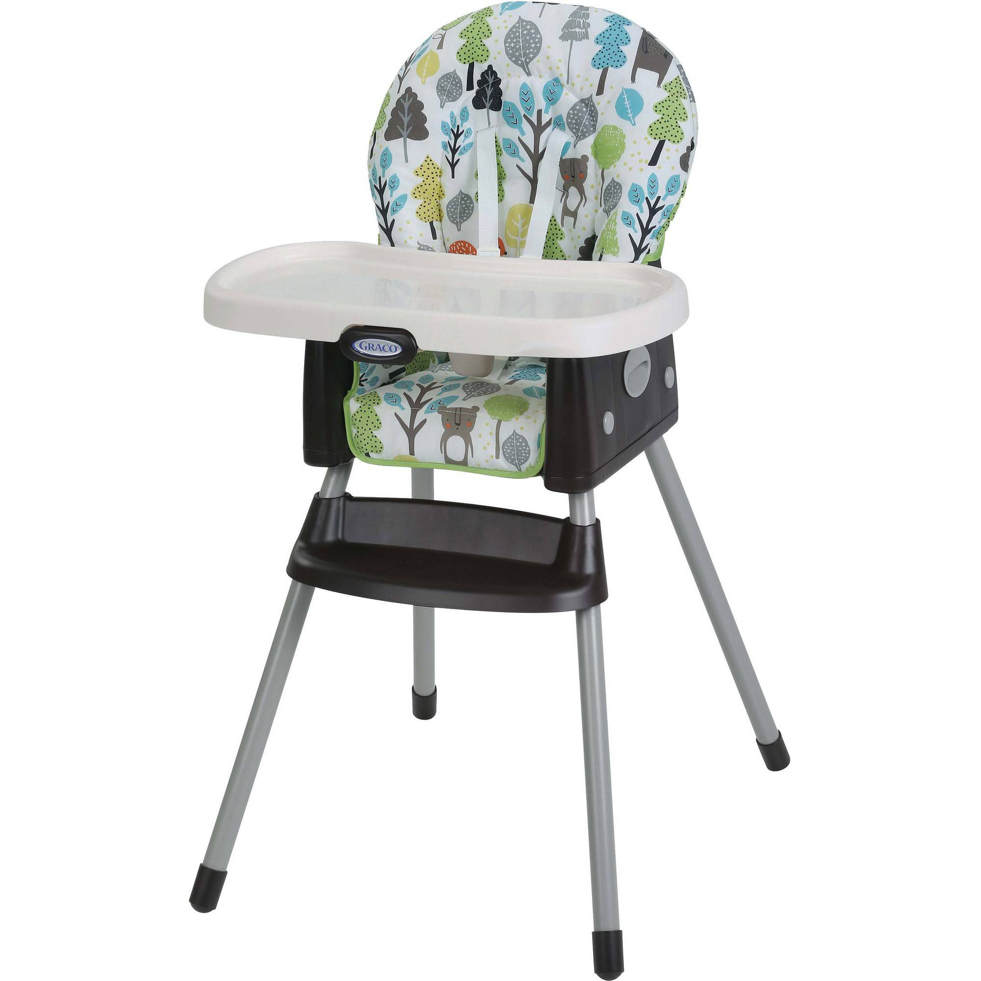Graco SimpleSwitch 2-in-1 Highchair, Bear Trail