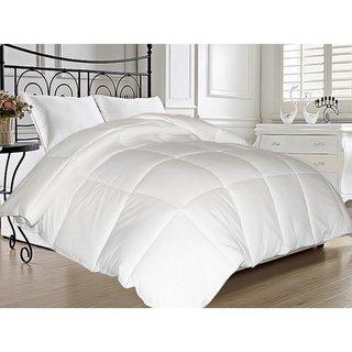 All Season Microfiber Feather Blend Comforter (King)