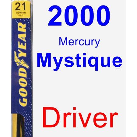 2000 Mercury Mystique Driver Wiper Blade - Premium
