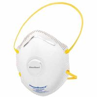 R20 Particulate Respirators, Gas Fume Use, Universal, Dual Valve, 10 bx, Sold As 1 Box by