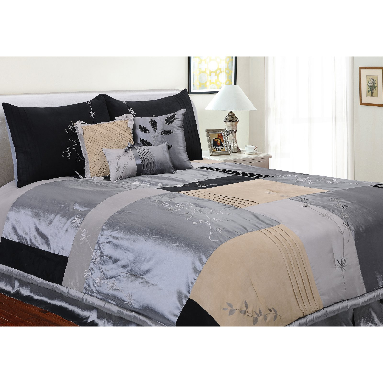 Back to Nature 6-Piece Complete Comforter Set