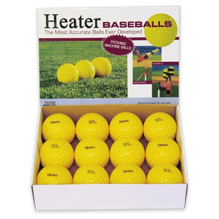 Heater Sports Pitching Machine Baseballs - 1 Dozen