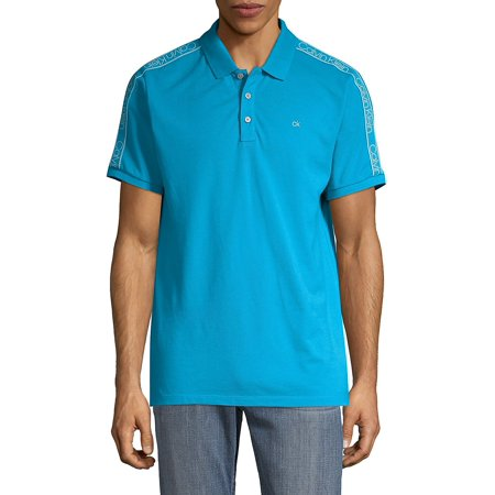 Athleisure Polo Tee Blue Drytec Performance Polo