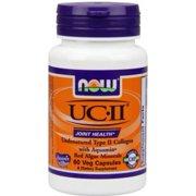 NOW Foods UC II 40 mg Vegetable Capsules, 60 Ct