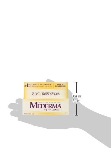 Mederma Scar Cream Plus Spf 30 Reduces The Appearance Of Old New Scars While Helping Prevent Sunburn 1 Doctor Pharmacist Recommended Brand For Scars 20 Grams Walmart Com Walmart Com