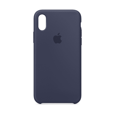 low priced 18fc2 c961d Apple Silicone Case for iPhone X - Midnight Blue