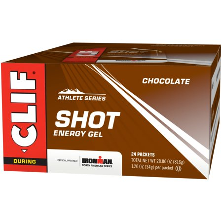 CLIF Shot Energy Gel, Chocolate, 24 Ct - Halloween Bar Shots