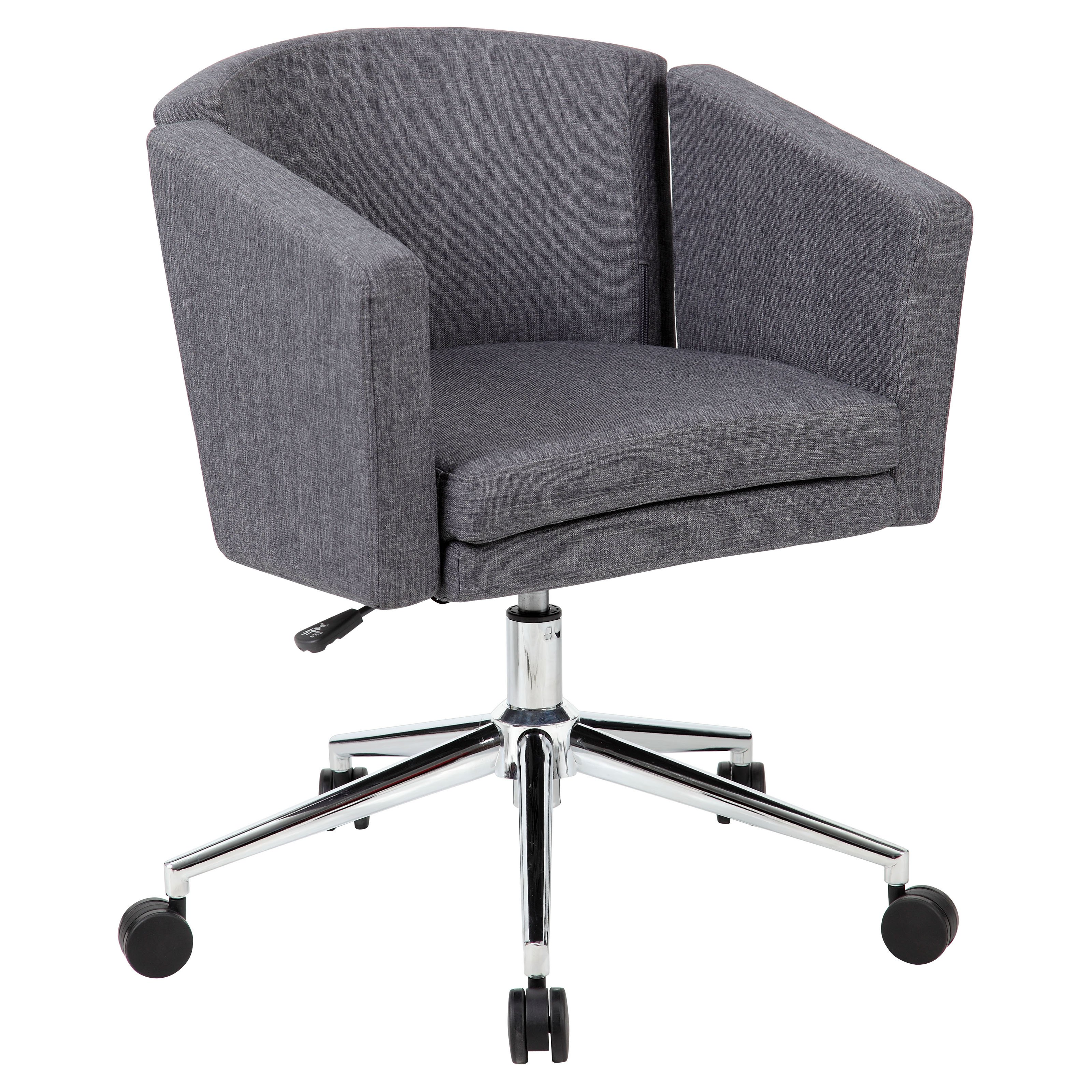 Boss Metro Club Desk Chair Black Walmart Com