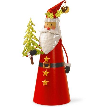 12   Metal Santa Character