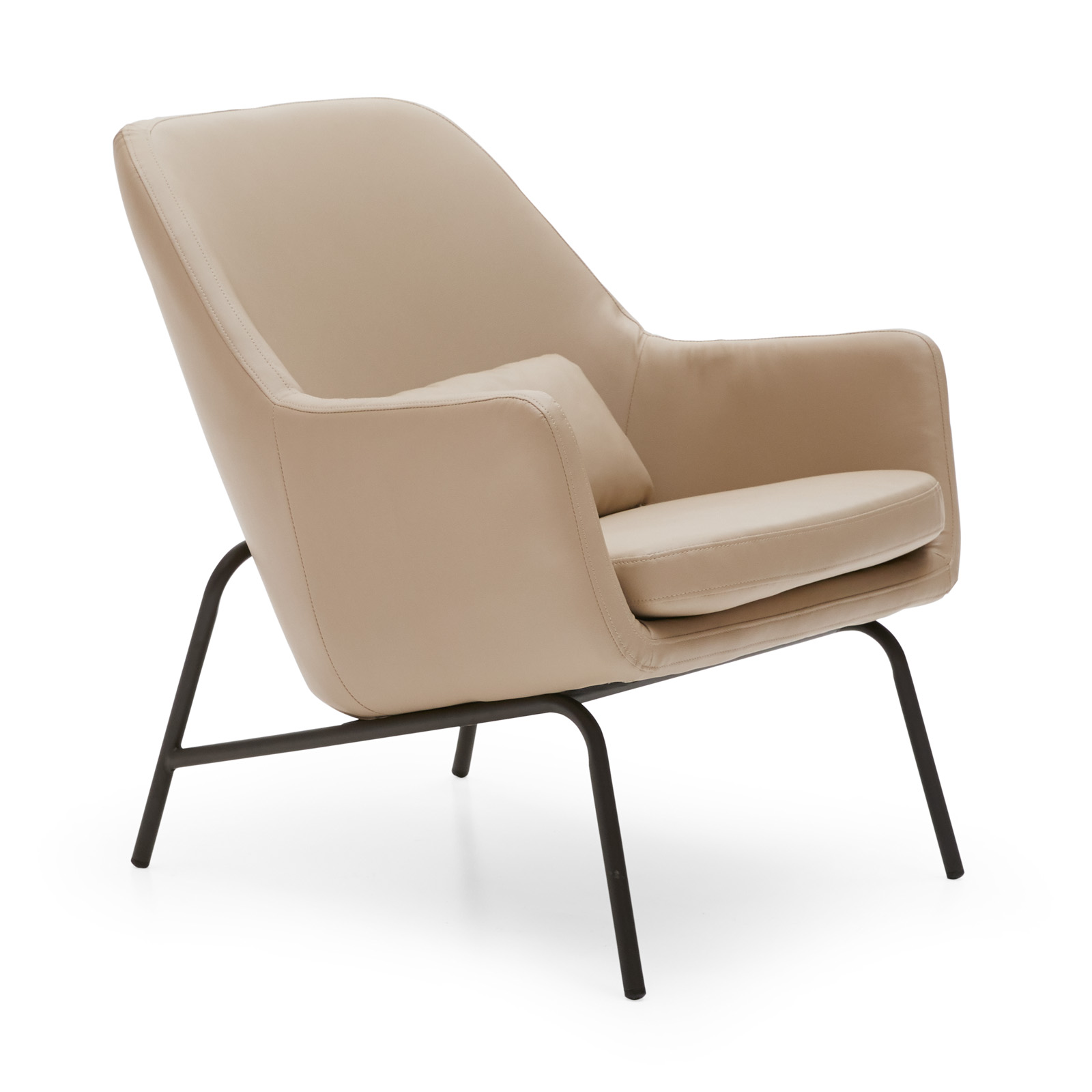 MoDRN Sandpiper Upholstered Lounge Chair