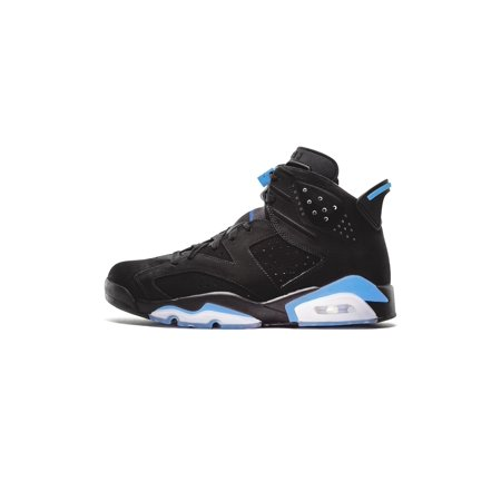 7575e01aae6 ... Mens Air Jordan Retro 6 VI UNC Black University Blue 384664-006 -  Walmart.