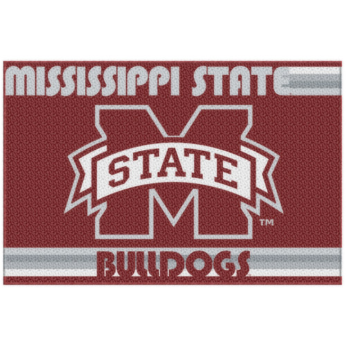 "NCAA Mississippi State Bulldogs 39"" x 59"" Tufted Nylon Rug"