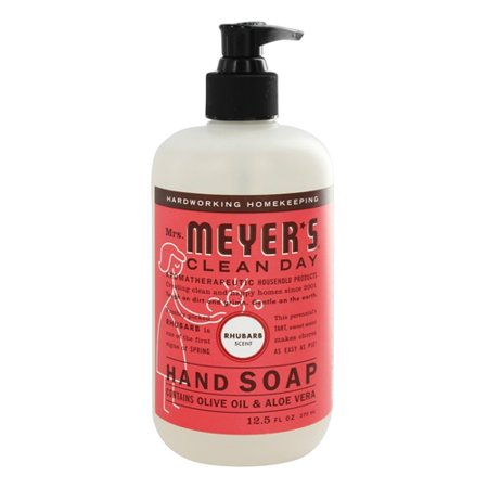 Mrs. Meyers Clean Day Liquid Hand Soap Rhubarb Scent