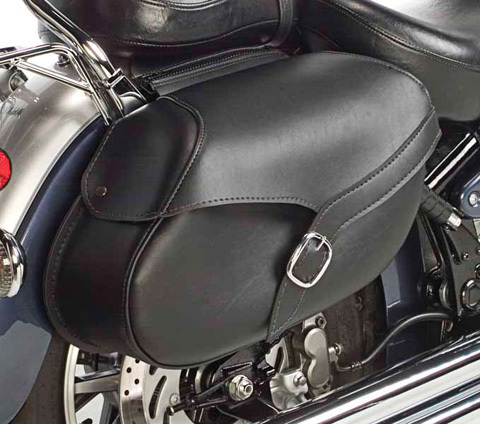 Willie And Max Revolution Hard Mount Style Saddlebag, Lar...