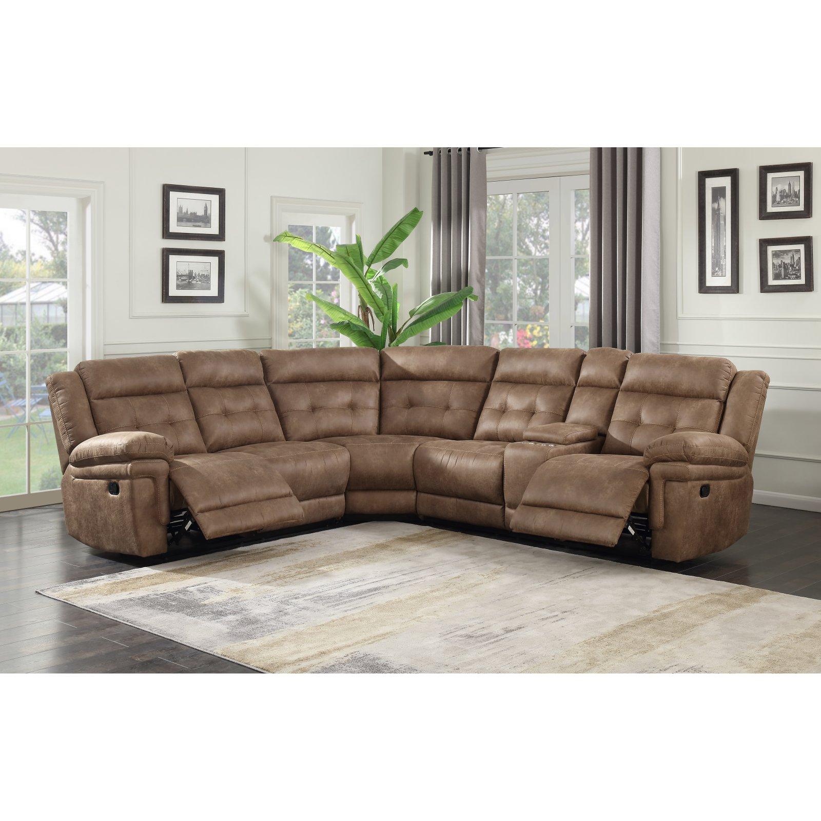 Steve Silver Co. Anastasia 3 Piece Reclining Sectional Sofa