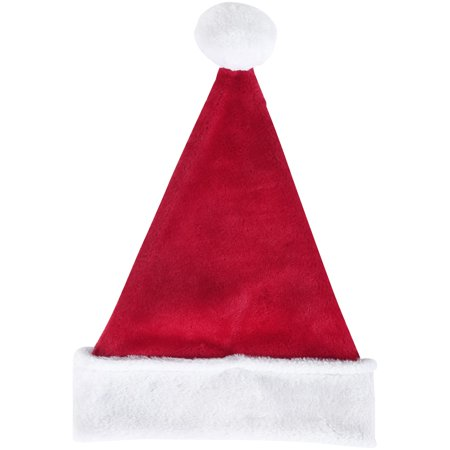 87861cfa0ad08 Holiday Time Large Size Classic Bright Red   White Santa Hat - Walmart.com
