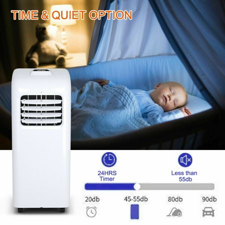 10000 BTU Air Conditioner & Dehumidifier w/ Remote Control Window Kit - image 9 of 10